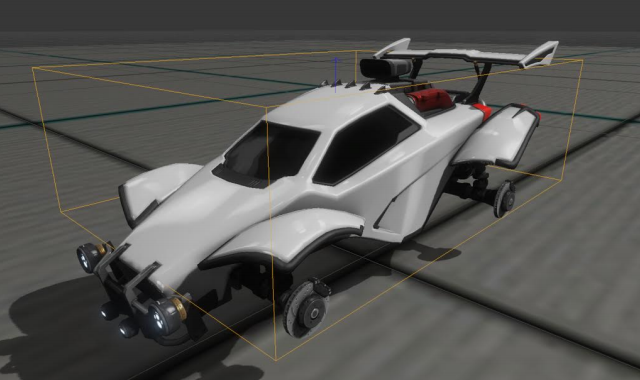 For collisions on the car's main body, Rocket League only uses one BoxCollider. Precise collisions just aren't needed, and would actually make that game feel more complicated and random.